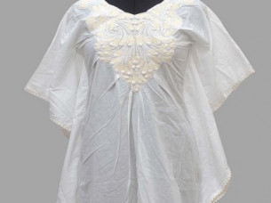 Casual Dress of Embroidery..