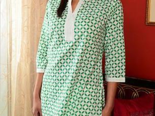 Womens & Girls Tops & Tunics Western Wear Collar n..