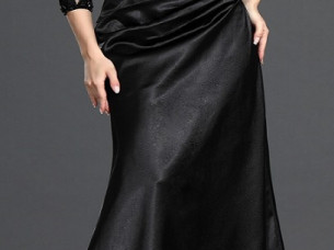 Ladies Hot Look Black Dress..