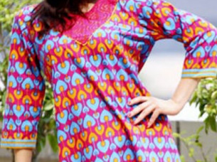designer kurtis tunic long sleeve..