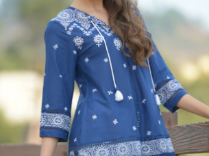 Embroidered Tunic..