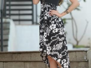 High Low Fancy Designer Dress..
