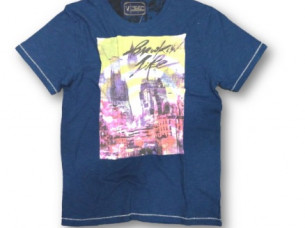 Mens T Shirt With Digital Print..