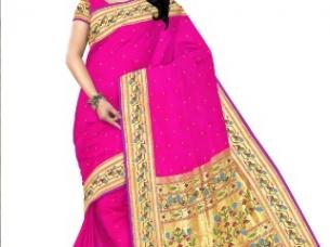 Paithani saree online shopping   Yeola paithani sarees Mum..
