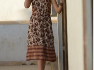Printed dress..