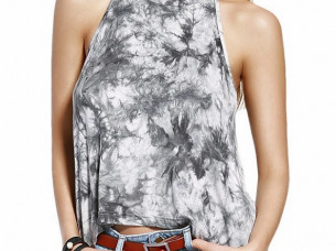 Tie and Dye Top For Sexy ladies..