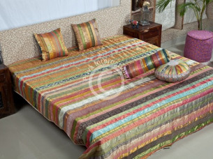 Designer Border Strip Bedsheet..
