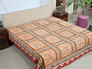 Cotton Jaipuri Printed Bedding Set/Bed Spread..