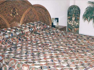 Indian Handmade Fine Patchwork Bedspread at Discounted Pri..