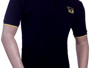 Cotton Polo Neck T Shirt..
