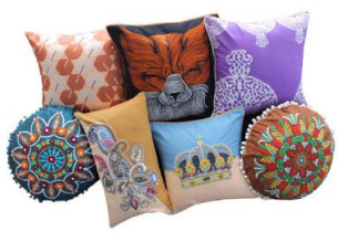 Printed Cushion Covers..