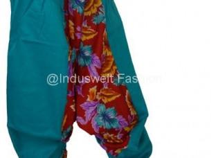 Harem Trouser Yoga wear violet Flower..