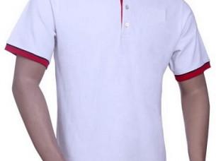 Mens Short Sleeve Cotton Polo Neck T Shirt..