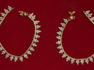 Fashion Anklets Jewelry Exporter..