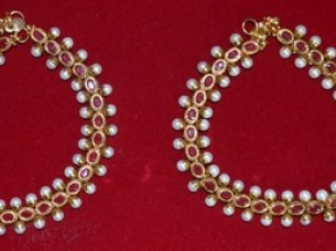 Gold Plated Fashion Anklets Exporter..