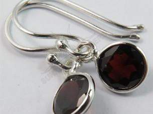 Prestigious Delicate Earrings 925 Solid Sterling Lightweig..