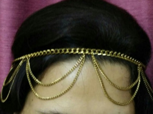 Gorgeous Design Attractive Look Hair Jewellery..