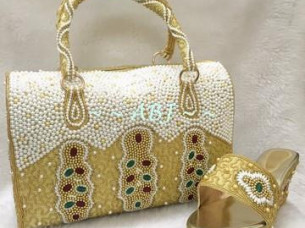 Hand bag with Shoes..
