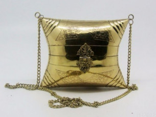Party Handmade Women metal Case clutch evening Hand bags..