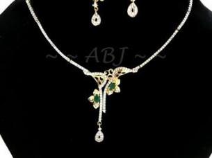 American Diamond Necklace Set..