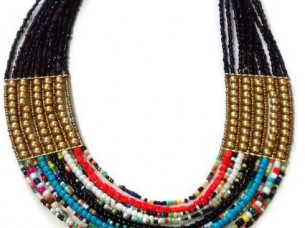 Attractive Look Beaded Choker Necklace Chain..