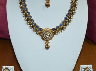 Latest Design Of Traditional Necklace Set..