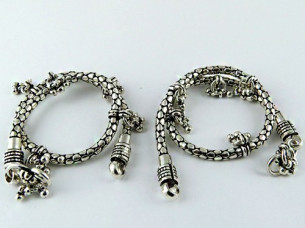 Excellent Design ! Oxidized 925 Sterling Silver Jewellery ..