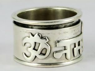 Fabolous Plain Silver 925 Sterling Silver Oxidized Ring..