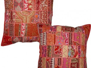 Tribal indian Patchwork Cushion Covers..
