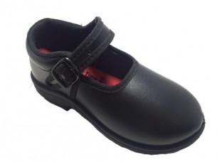 Girls Black Dress Shoes School Shoes..
