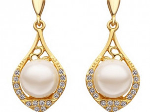 Latest Design Pearl Jewelry Earrings..