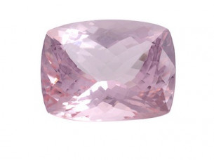 Rich Quality Loose Cushion cut pink Morganite Gemstones..