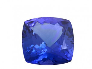AAAA quality natural cushion tanzanite stone..