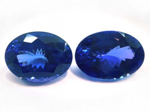 AAA natural tanzanite loose gemstone At Wholesale Price..