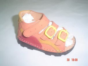 Pink color Kids dress shoes..