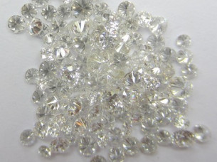 2.00 Cts Real Natural white loose Diamonds..