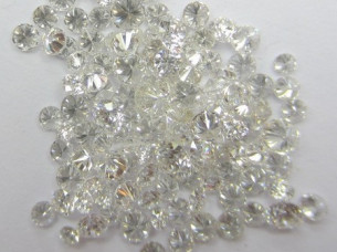 Real Natural 3.00Cts H Color white Loose Diamonds..