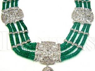 14k Gold Diamond Necklace..