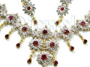 Diamond Necklace Set..