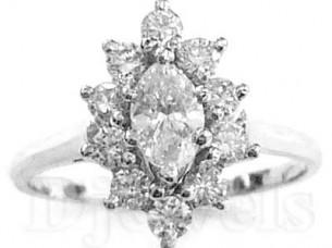 14k Gold Diamond Nose Ring  Jewelry..