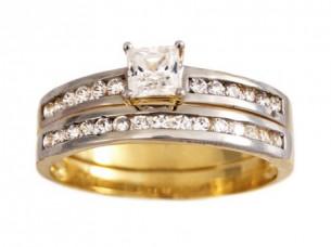 18k Gold Women's Wedding Ring..