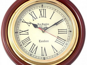 Artshai Vintage Antique Design 12 inch Wall Clock made fro..