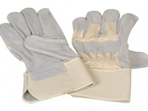 Safety Leather Gloves..