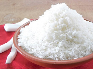 100 % Natural Desiccated Coconut Powder..