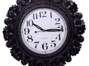 Purpledip Decorative Wall Clock European Extravagance ,Scu..