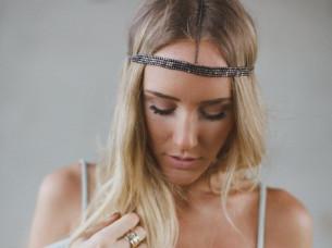 Trendy Look Hair Jewelry Head Chain..