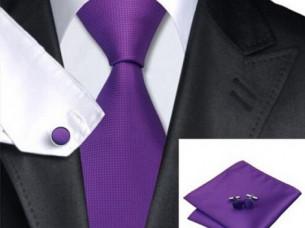 100% Jacquard Woven Classic Men Tie Sets..