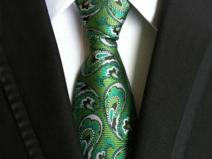 New Arrival Trendy Mens Polyester Silk Ties..