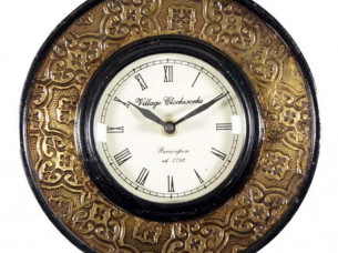 Purpledip antique analog wall clock ,clock 44..