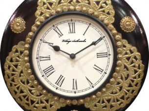 Purpledip Decorative wall Clock for home..